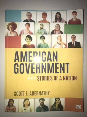 American Government Stories of a Nation for Sale in Fontana, CA