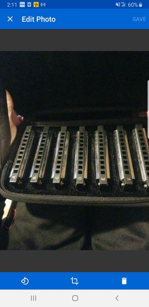 HOHNER PBH7 Piedmont Blues Harp Set - 7 Piece for Sale in Concord, NH