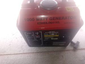 Robot 1,000 watt generator. Has 2 / 120 outlets for Sale in Lincoln, NE