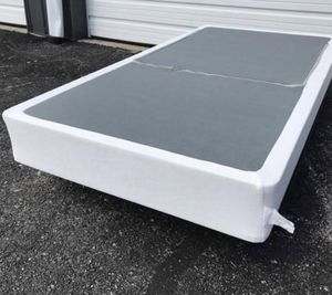 New smart box spring Twin $35 Full $50 Queen $60 king $60 for Sale in Columbus, OH