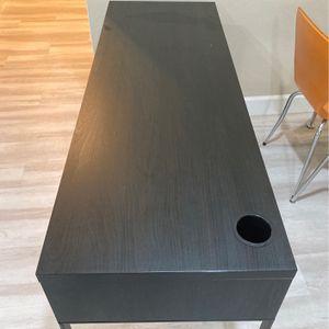 IKEA Micke Black Two Drawer Desk for Sale in San Diego, CA