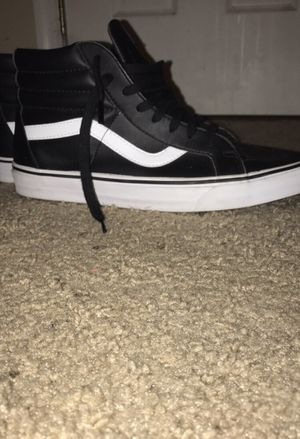 "Black and White ""High Reissue"" Vans OG for Sale in Chester, VA"