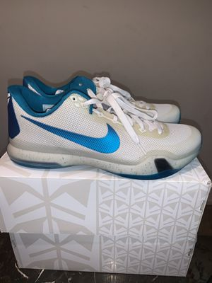 Kobe X TB Elite RARE Unreleased Colorway (Hornets Edition) 10 for Sale in West Sacramento, CA