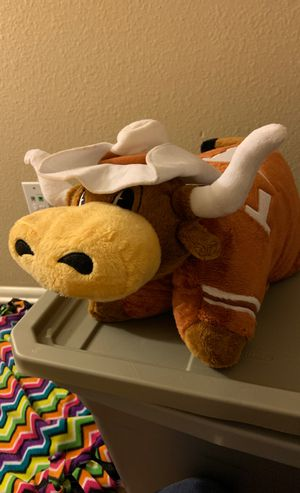 Texas longhorn pillow pet for Sale in Austin, TX