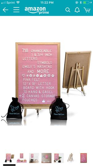Pink letter board for Sale in Price, UT