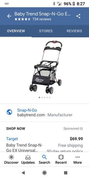 Snap N Go Stroller for Sale in Marysville, WA