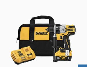 DEWALT XR POWER DETECT 1/2-in 20-Volt Max Variable Speed Brushless Cordless Hammer Drill (1-Battery Included for Sale in Everett, MA