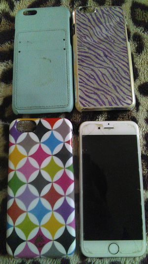 Up for sale is an iphone 6 clean imei not blacklisted 16 gb for Sale in Sacramento, CA