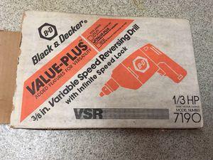 Black & Decker corded drill for Sale in Portland, OR
