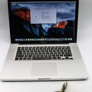 "Macbook Pro 15"" 4gb Ram 250GB SSD + Ps/Lr/Ai, Logic Pro X, Final Cut Pro X, Office 2016 for Sale in North Las Vegas, NV"