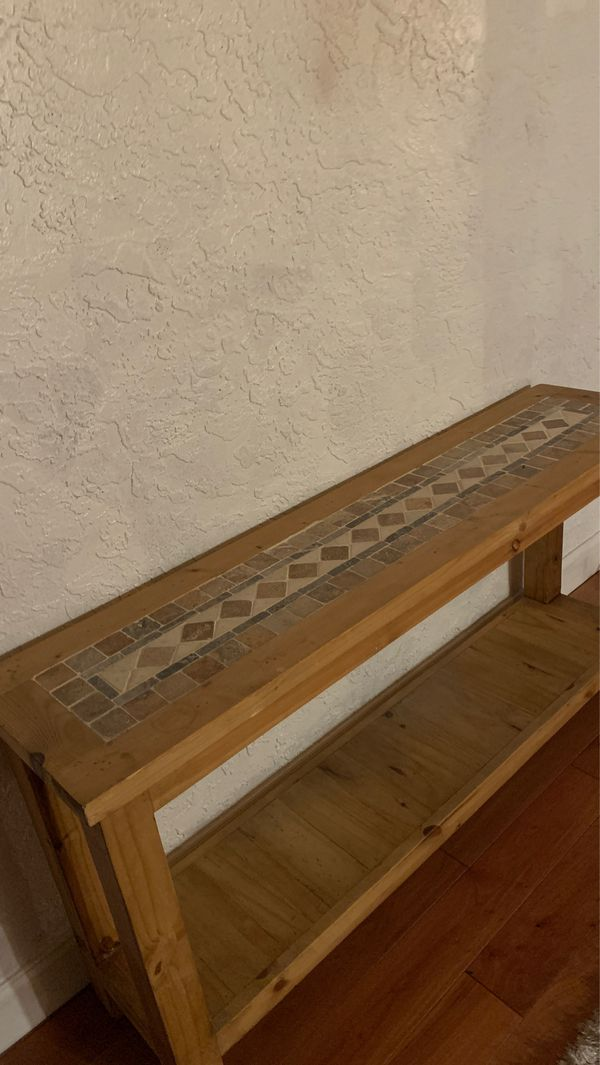 Mexican console table