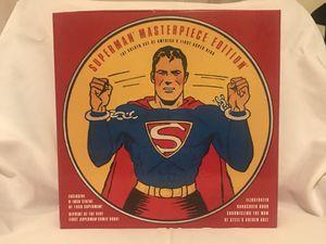 Vintage Superman Masterpiece Edition Collection Statue/Figurine, Reprint of First Superman Comic Book & Hardcover Book for Sale in La Grange Park, IL