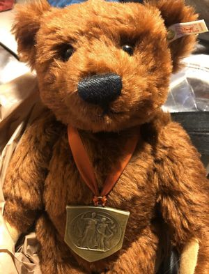 """STEIFF LOUIS TEDDY BEAR 16"""" LIMITED EDITION NUMBER #1597 OF 3500 PRODUCED IN 1994 MADE IN GERMANY. AUTHENTIC VINTAGE ANTIQUE COLLECTABLE for Sale in Los Angeles, CA"""