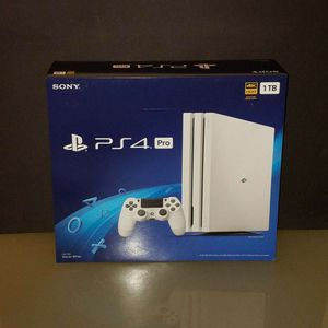 White PS4 Pro 1T for Sale in Tillson, NY