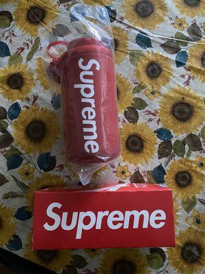 Supreme Nalgene 32 oz. Red Bottle & Supreme ziploc bag pack for Sale in Fullerton, CA