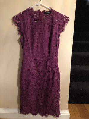 Beautiful purple Floral Lace Dress for Sale in Chevy Chase, MD