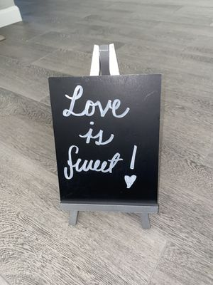 Love is sweet sign for Sale in Canyon Lake, CA