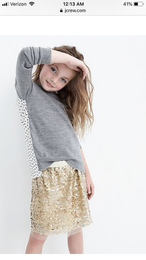 Darling Like New Crewcuts Girls skirt size 12 for Sale in Bothell, WA