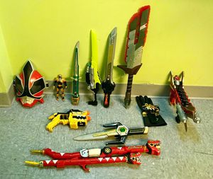 Power rangers toys for Sale in Joliet, IL