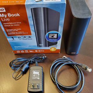 Western Digital WD My Book Live 1TB NAS External Network Hard Drive for Sale in Lutz, FL
