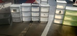 plastic drawers for Sale in Menifee, CA