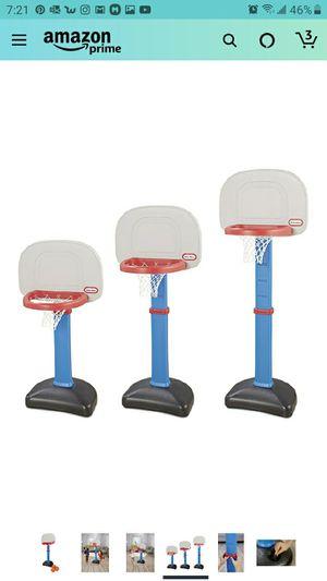 Little Tikes Easy Score Basketball Set, Blue, 3 Balls for Sale in Las Vegas, NV