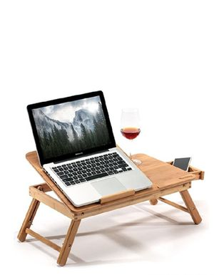 Bamboo Large Foldable Laptop Notebook for Sale in Chula Vista, CA