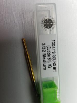 Drill Bit Titanium. Clean Cuticle bit for Sale in San Diego, CA