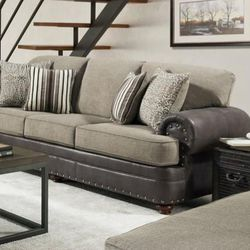 Marco khaki sofa and loveseat for Sale in Houston,  TX