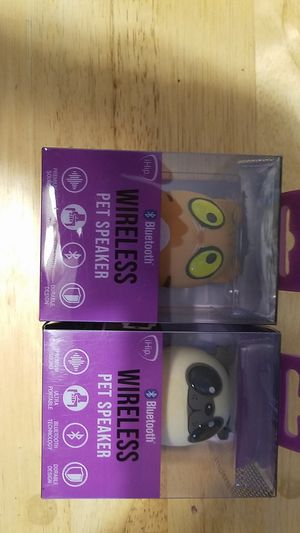 2 bluetooth wireless speaker brand new never used still in package for Sale in Boca Raton, FL