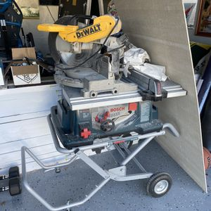 Bosch Gravity Stand With Saw for Sale in Alameda, CA