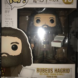 Harry Potter Series 78 Rubeus Hagrid for Sale in Naperville, IL