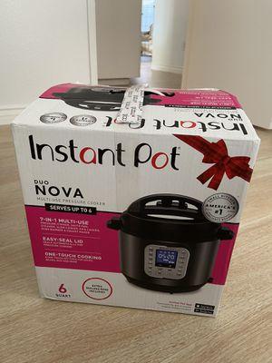 New Instant Pot Duo Nova for Sale in Bakersfield, CA