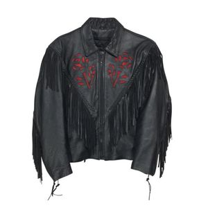 Unik Fringe Riding Leather Jacket Large for Sale, used for sale  Queens, NY