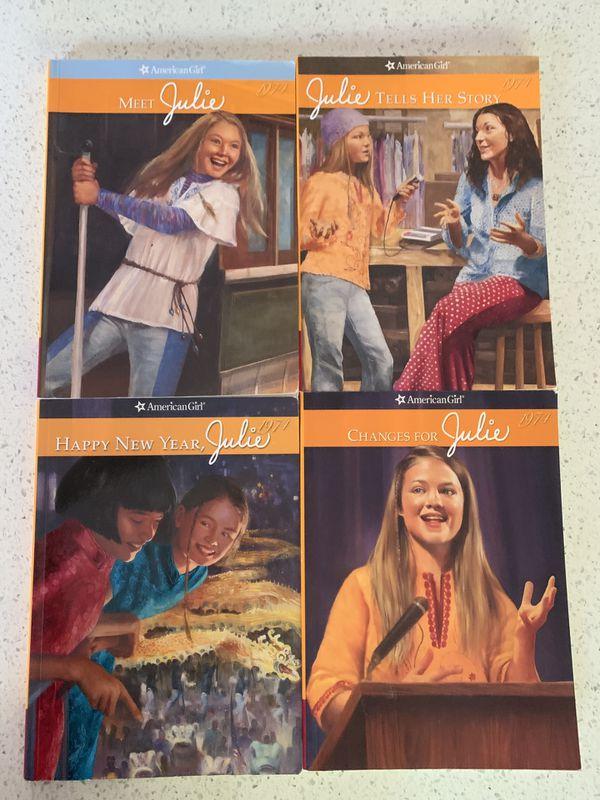 American Girl Julie books