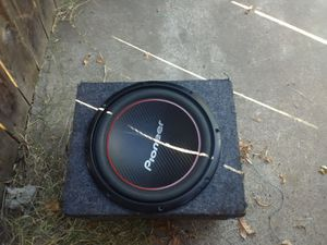 """12"""" pioneer subwoofer for Sale in Sacramento, CA"""
