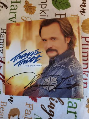 Authentic Autographed Travis Tritt CD for Sale in Murfreesboro, TN