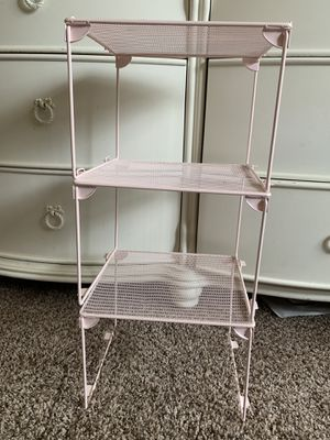 3 pink shelves for Sale in Peoria, IL