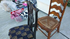 Chairs to recover Solid Wood for Sale in Fontana, CA