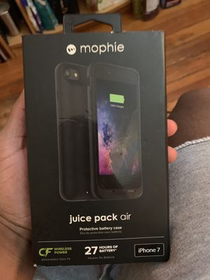 Mophie Charging Case- Iphone 7 for Sale in Midlothian, VA