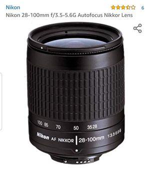 NEW Nikon Nikkor 28-100 AF Lense for Sale in Fort Lee, NJ