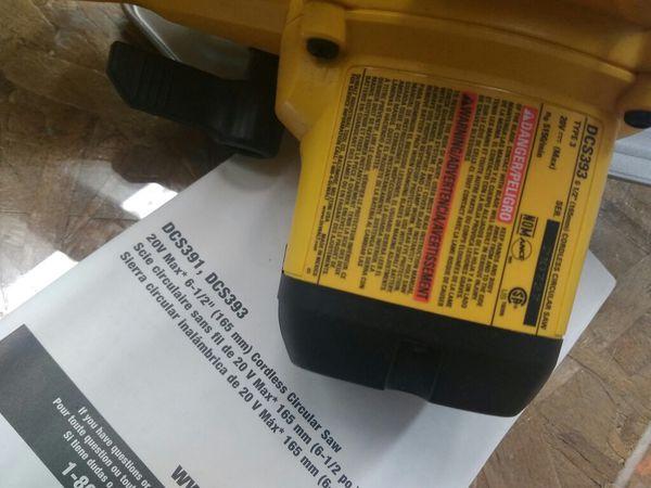 $329.99 - DeWalt 20v 4 Tool Combo Kit: Drill, Impact, Sawzall & Circular Saw