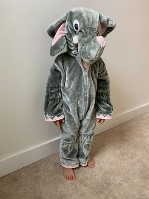 Cutest elephant costume size 3-5 yo for Sale in Bothell, WA