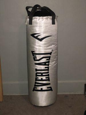 Everlast 80lb punching bag for Sale in Detroit, MI