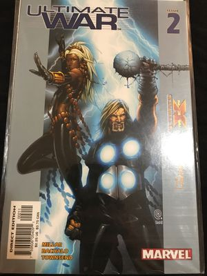 Ultimate war comic book issue two sleeve kept for Sale in Clarksburg, WV