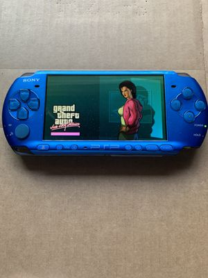 PSP Slim Blue Like New With 5k+ Games & Movies 🎮🎮 for Sale in Santa Ana, CA