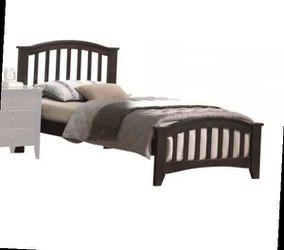 Twin Bed - 04980T - Dark Walnut for Sale in Ontario,  CA