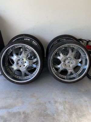 26 inch Chrome Asanti Wheels Rims for Sale in Oak Lawn, IL