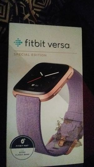 Fitbit Versa Smart Watch for Sale in San Diego, CA