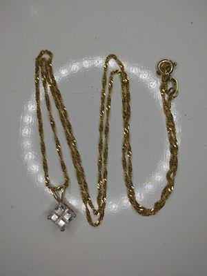 14k gold necklace for Sale in Hallandale Beach, FL